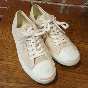 Pale Pink Jack Purcell Converse Tennis Shoes 10